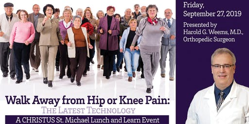 Total Knee Replacement Lunch and Learn Sept. 2019