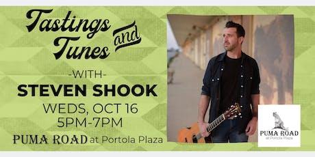 Live Music - Tastings & Tunes w/ Steven J. Shook tickets