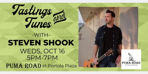 Live Music - Tastings & Tunes w/ Steven J. Shook