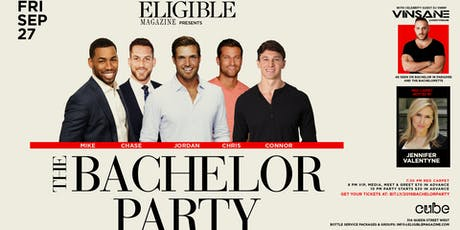 Eligible Magazine presents The Bachelor Party tickets