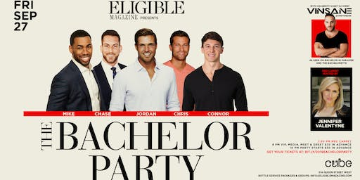 Eligible Magazine presents The Bachelor Party