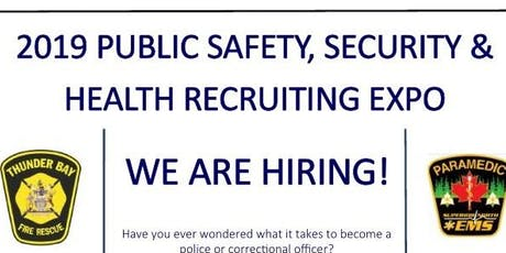 2019 Public Safety, Security and Health Recruiting Expo tickets