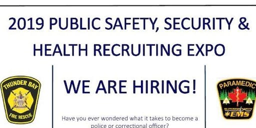 2019 Public Safety, Security and Health Recruiting Expo