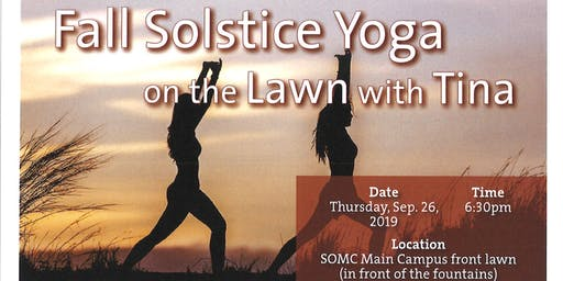 Fall Solstice Yoga On The Lawn