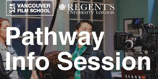 Regent's University London Pathway INFO SESSION