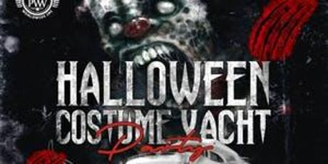 10/31 HALLOWEEN COSTUME YACHT PARTY @ CABANA YACHT tickets
