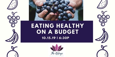 Eating Healthy on a Budget tickets
