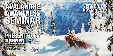 Avalanche Awareness Seminar - Vernon tickets