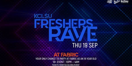 FRESHERS RAVE @ FABRIC tickets