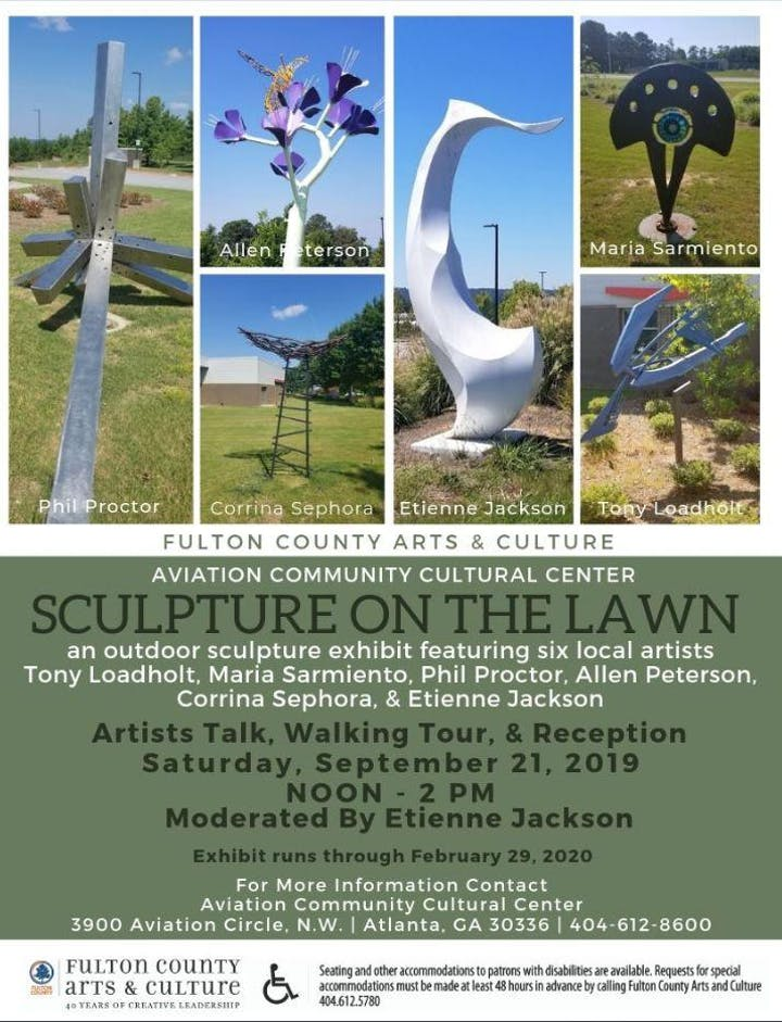 Aviation Community Cultural Center - Sculpture on the Lawn