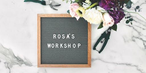Rosa's Wreath-making Workshop