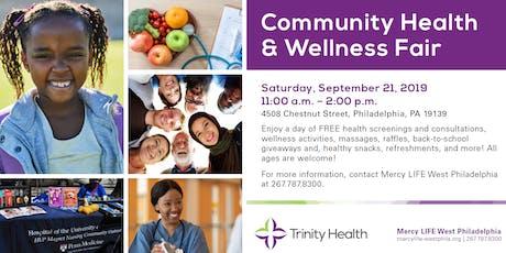 West Philadelphia Health & Wellness Fair tickets