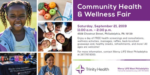 West Philadelphia Health & Wellness Fair
