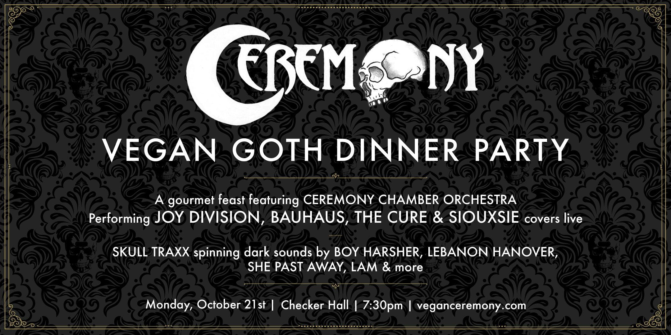Vegan Goth Dinner Party