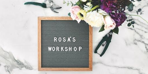 Rosa's Arrangement Workshop