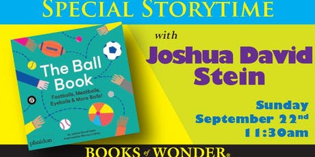 Special Storytime with Joshua David Stein! tickets