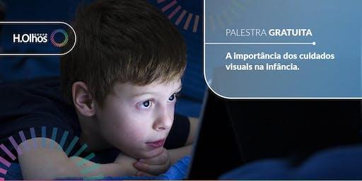 Palestra Gratuita: A importância dos cuidados visuais na infância