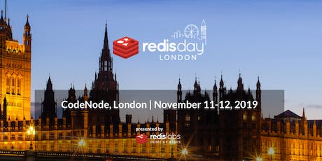 Redis Day London 2019 tickets