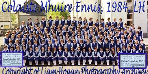 Colaiste Mhuire Class Reunion of 1979-1984