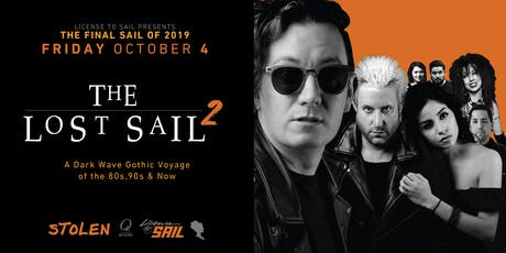 The Lost Sail 2 - A Gothic Boat Party tickets