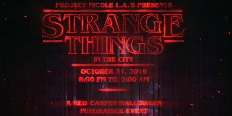 Project Nicole L.A. HALLOWEEN Edition: Strange Things in The City tickets