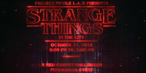 DTLA's  Halloween 80's Costume Party:  Strange Things In The City