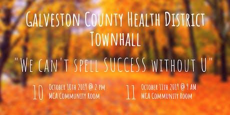 October 2019 GCHD Public Health Townhall tickets
