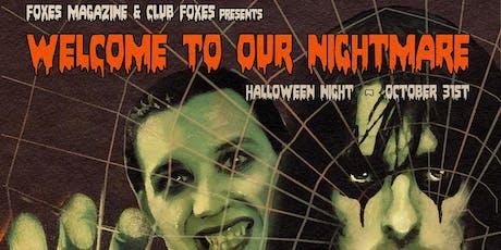 FOXES Magazine Halloween Extravaganza! @ Lodge Room Highland Park tickets