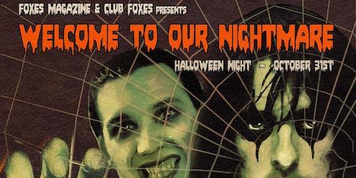 FOXES Magazine Halloween Extravaganza! @ Lodge Room Highland Park