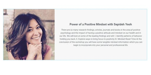 The Power of a Positive Mindset with Sepideh Yeoh