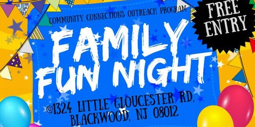 Family Fun Night: BINGO, Dinner, and Scholarship Info Session