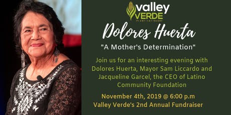 Dolores Huerta: A Mother's Determination  tickets
