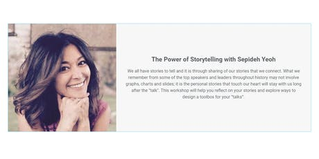 The Power of Storytelling with Sepideh Yeoh tickets