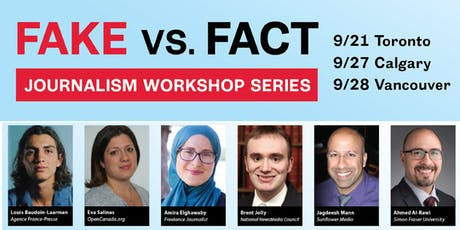 Fake vs. Fact Journalism Workshop Series tickets