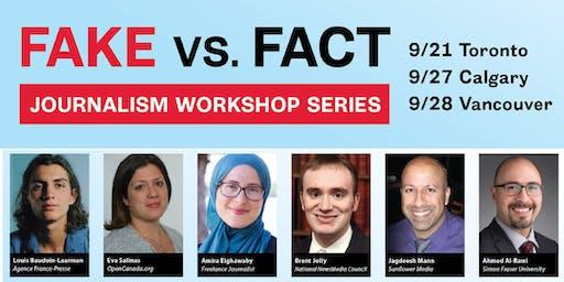Fake vs. Fact Journalism Workshop Series