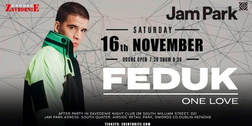 FEDUK IN DUBLIN 16th NOVEMBER 2019