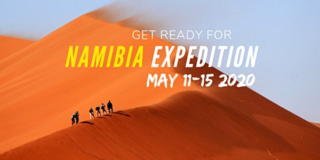 Namibia Expedition 2020 tickets