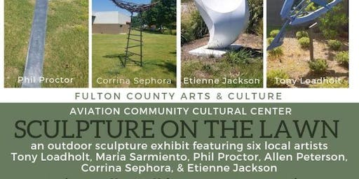 Aviation Community Cultural Center - Sculpture on the Lawn Artists Talk