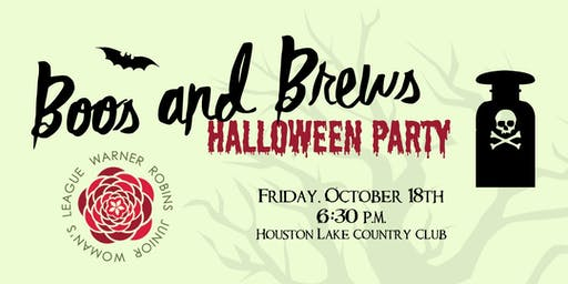 Boos and Brews Halloween Party 2019
