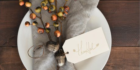 Fall Tablescape Styling with Bespoke Décor tickets