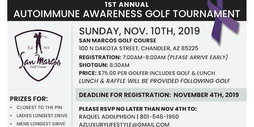 1st Annual Auto Immune Awareness Tournament (Scramble)