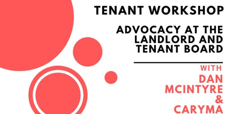 Tenant Advocacy Workshop tickets