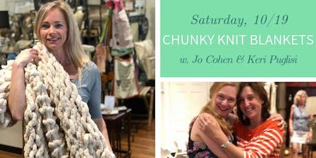 Chunky Knit Blankets DIY @ Nest on Main- Sat., 10/19 tickets