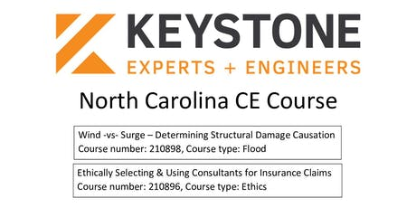 Keystone Experts & Engineers North Carolina CE Course tickets