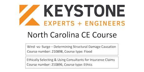 Keystone Experts & Engineers North Carolina CE Course tickets