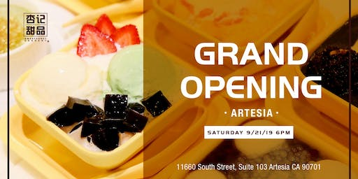 SweetHoney Dessert - Artesia Grand Opening!