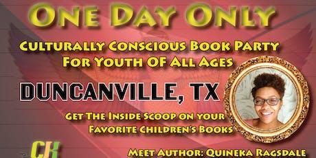Duncanville CJK Publishing Book Party tickets