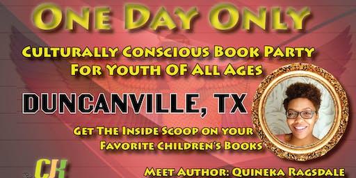 Duncanville CJK Publishing Book Party