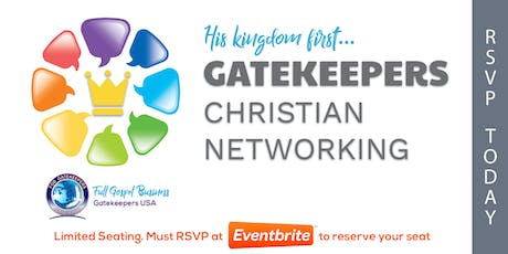Gatekeepers - Christian Business Network Meeting (Manasota) tickets