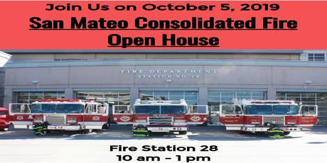 San Mateo Consolidated Fire Open House tickets